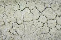Cracked Ground, Earthquake Background, Texture Stock Photos