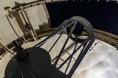 Large optical telescope Stock Photos