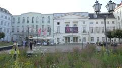 The Deutsches Theater in Berlin Stock Footage