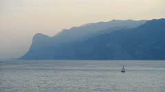 Lago di Garda, Italy, Europe. Stock Footage