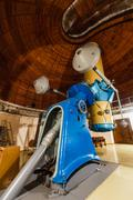 Stock Photo of Old trophy large optical telescope