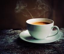 Coffee Espresso. Cup Of Coffee Stock Photos