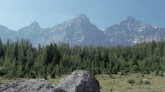 Sentinel Pass Mountain Scenics Stock Footage