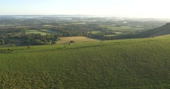 The South Downs Sussex England Stock Footage