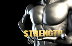 Strenght Stock Illustration