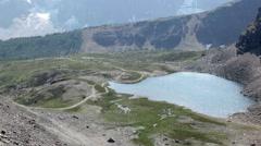 Sentinel Pass Mountain Scenics Stock Footage
