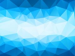 Stock Illustration of Modern blue background with white stripe