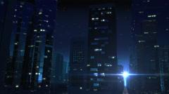 Futuristic City Drive (Night Version) Arkistovideo