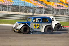 Legends Car Championships Stock Photos