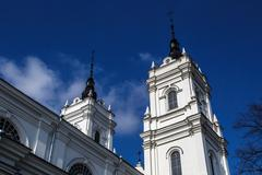 Stock Photo of Catholic Cathedral in Ludza