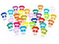 Colorful Origami Ninja Kuvituskuvat