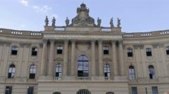Humboldt University of Berlin, one of Berlin's oldest universities - stock footage