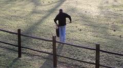 Farm Worker - stock footage