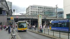Bahnhof Friedrichstrasse. Berlin, Germany Stock Footage