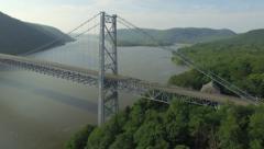 Drone | Bridge Aerial Cinematography 4k Stock Footage
