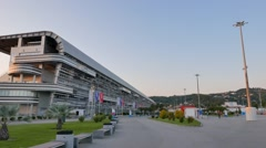 Stock Video Footage of Autodrome Sochi, SunSet, Adler, Russia. 1280x720