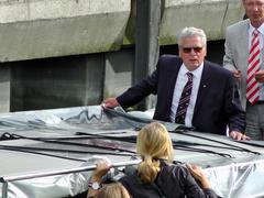 Stock Photo of Germany's President Joachim Gauck on Sail 2015 Bremerhaven