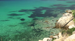 Halkidiki, Sithonia - Costline view 4k Stock Footage
