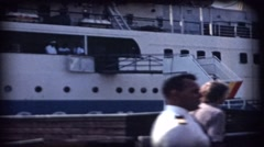 A ferry in Sweden Stockholm  8mm film Stock Footage