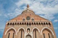 Basilica of St. Anthony in Padua - Italy - stock photo