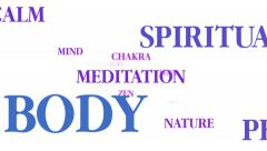 Motivational spirituality word cloud Stock Footage