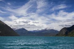 Basum lake in Tibet, China Stock Photos