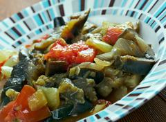 Eggplant Casserole - stock photo