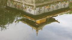 Norbulingka Lake reflection, Lhasa, Tibet Stock Footage
