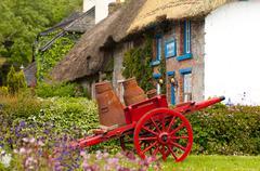 Adare, Ireland. May 20, 2005. Picturesque Village of Adare, Co. Limerick - stock photo