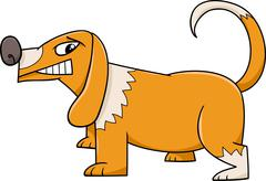 Stock Illustration of funny dog cartoon