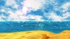 Magical Beach Stock Footage