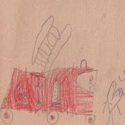 Children Drawing - stock illustration