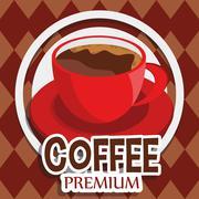 Illustration Graphic Vector Coffee - stock illustration