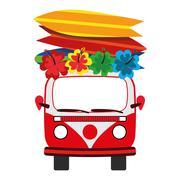 Illustration Graphic Vector Summer, Travel, Holiday Stock Illustration