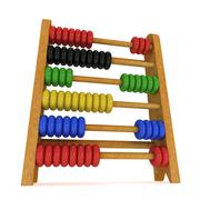 3d toy abacus Stock Illustration