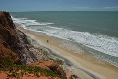 Crystalline sea beach in Natal,Brazil - stock photo