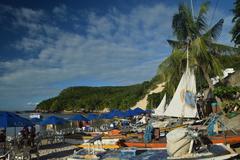 Beach in Natal,Brazil Stock Photos