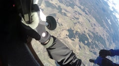 Skydiving in Norway Arkistovideo