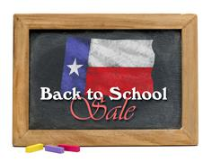 Back to School Sale. - stock photo