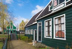 Stock Photo of authentic dutch houses