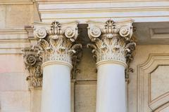 architectural details - stock photo