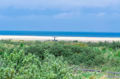 Coast at Ouddorp Zeeland - stock photo