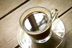 coffee americano - stock photo