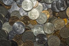 A lot of money Stock Photos
