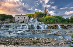 Terme di Saturnia Stock Photos