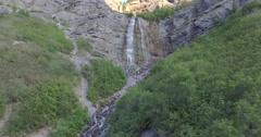 Bridal Veil Falls - 1080 Stock Footage