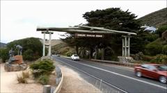 Great Ocean Road - stock footage