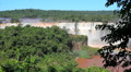 Brazilian waterfall. Cataratas do Iguaçu, Brazil. World Famous Iguazu Falls Footage