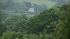 English farm house Stock Footage
