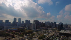 City Skyline, downtown area and more, New Orleans, LA Stock Footage